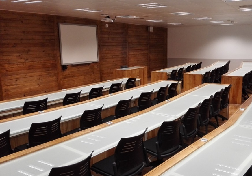 Mesas presidenciales salones de actos mobiliario de - Mesas para salones ...